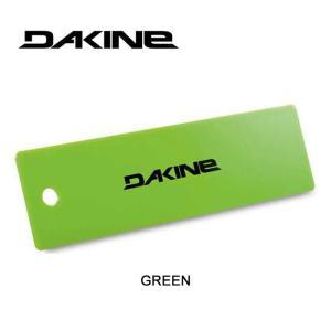 【5%還元】ダカイン スクレーパー ワックス除去 DAKINE [ AH232957 ] 10 SCRAPER GREEN メンテナンス ボード スキー [メール便]|shop-hood