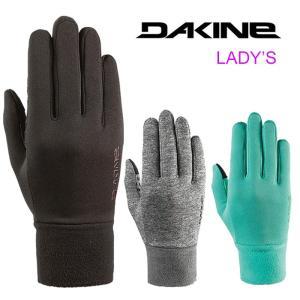 【5%還元】ダカイン レディース インナーグローブ 手袋 DAKINE AH237785 WM STORM LINER 5本指 グローブ 女性用 ストームライナー [メール便] [0802]|shop-hood