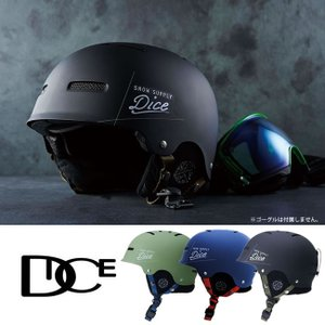DICE D5 HELMET スノーヘルメット ダイス SNOW HELMET スノボ メンズ レディース スノーゴーグル スノーボード スキー プロテクター