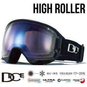 ダイス ゴーグル 調光ウルトラレンズ 19-20モデル ハイローラー BLK スキー スノーボード ...