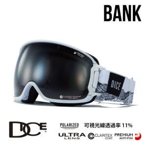 ダイス ゴーグル スノーボード BANK バンク DICE BK94362W BK-pU/LPBKd-PAF W スノーゴーグル スキーゴーグル goggle [0130] shop-hood