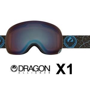 ゴーグル ドラゴン DRAGON [ X1 ] PETAL BLUE/OP F.BLU スノーボード スノボ スキーゴーグル [0901]|shop-hood
