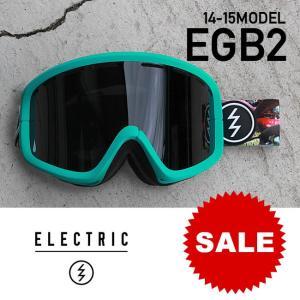 スノーボード ゴーグルエレクトリック ELECTRIC ボーナスレンズ付 14-15 EGB2 E-92 GRILLS JET BK イージービー2|shop-hood