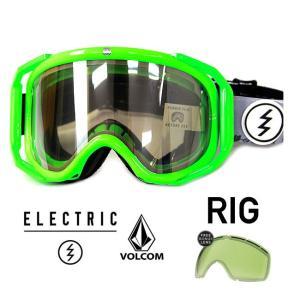 エレクトリック ゴーグル ELECTRIC14-15 RIG V.CO-LAB CLA / SILVER リグ スノーボード ゴーグル スノボー メンズ レディース goggle|shop-hood