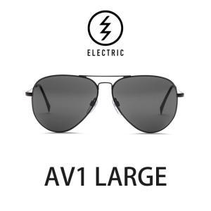 エレクトリック サングラス ELECTRIC AV1 LARGE BLACK / LENS:GREY メガネ 眼鏡 メンズ レディース UVカット ティアドロップ|shop-hood
