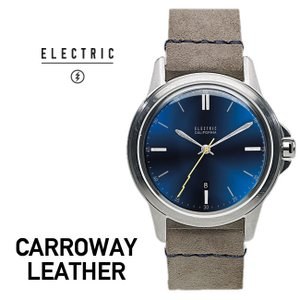 腕時計 ELECTRIC エレクトリック CARROWAY LEATHER BLUE/GREY ウォッチ 腕時計 メンズ|shop-hood