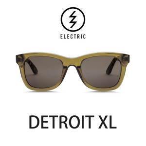 エレクトリック サングラス ELECTRIC DETROIT XL TOBACCO / LENS:BRONZE メガネ 眼鏡 メンズ レディース UVカット|shop-hood