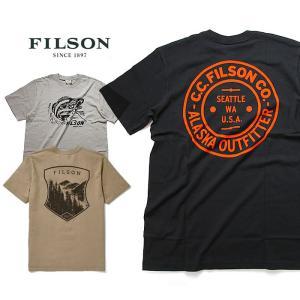 フィルソン Tシャツ FILSON #62528 S/S 半袖 OUTFITTER GRAPHIC TEE メール便 0510 shop-hood