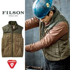 フィルソン ベスト アウター FILOSN  #2999 ULTRA-LIGHT VEST プリマロフト 中綿ベスト   [0901] shop-hood