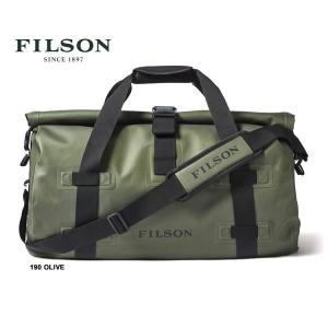 フィルソン バッグ 防水 FILSON [ #67745 ] DRY DUFFLE MEDIUM ドライダッフル ミディアム PUコーティング 190 OLIVE shop-hood