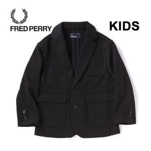 フレッドペリー キッズ ジャケット FRED PERRY FY2000 テーラードジャケット 入学 入園 パーティ|shop-hood