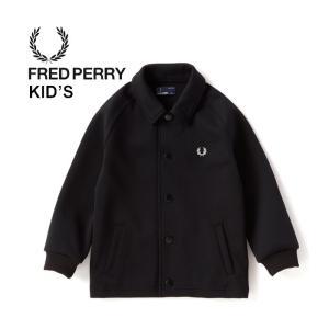 フレッドペリー キッズ 子供 ジャケット コーチジャケット FRED PERRY [ FY2001 ] COACH JK (07 BLK) [0901]|shop-hood
