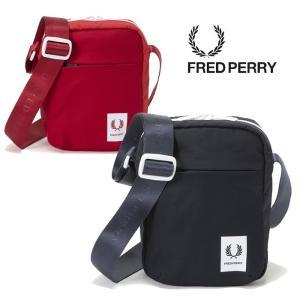 フレッドペリー ショルダーポーチ FRED PERRY [ F9556 ] MINI FLIGHT BAG ミニショルダー バッグ カバン [0103]|shop-hood