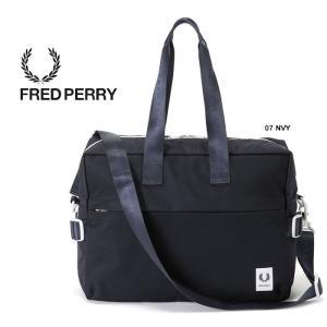フレッドペリー 2WAY ショルダーバッグ FRED PERRY [ F9557 ] HOLDALL ダッフルバッグ トート カバン [0103]|shop-hood