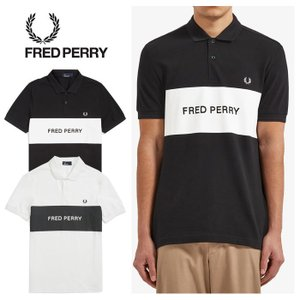 フレッドペリー ポロシャツ メンズ FRED PERRY M6510 PRINTED PANAEL PIQUE SHIRT 半袖 [0601]|shop-hood