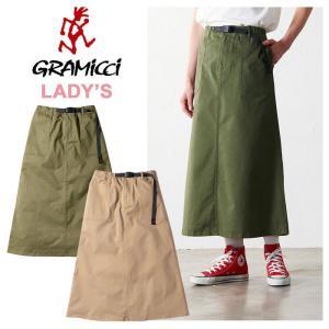 【5%還元】グラミチ レディース スカート ロングスカート GRAMICCI GLSK-006 BAKER SKIRT ベイカースカート 台形スカート|shop-hood