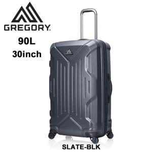 【5%還元】グレゴリー スーツケース GREGORY クアドロハードケースローラー 30 SLATE BLK 90L キャリーケース [0601]|shop-hood