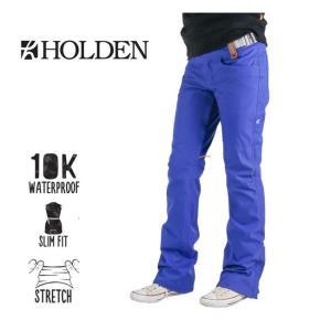 ホールデン ウェア Holden 15-16モデル Women'S STANDARD SKINNY PANTS ELECTRIC INDIGO スノーボード snowboard wear|shop-hood