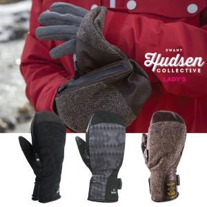【5%還元】ハドソン グローブ レディース ミトンタイプ HUDSEN HARRIET スキー スノーボード スノーグローブ スキーグローブ 女性用 1115|shop-hood