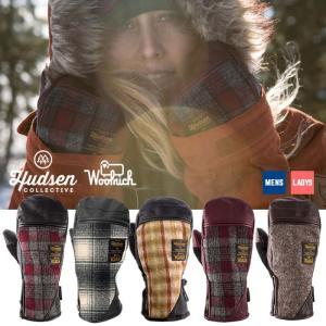 ハドソン ミトン グローブ メンズ レディース Hudsen collective HW-2A Ethan ミトングローブ スノボ スキー スノーボードグローブ 男性用 女性用 [1101]|shop-hood