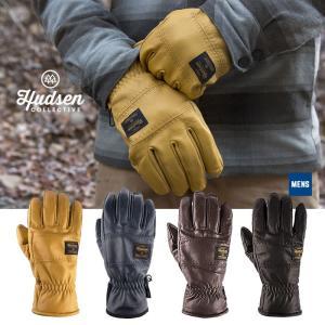 【5%還元】ハドソン グローブ 5本指 メンズ Hudsen collective HC-34HM Wendell メンズグローブ スノボ スキー グローブ スノーボードグローブ 男性用 [1101]|shop-hood