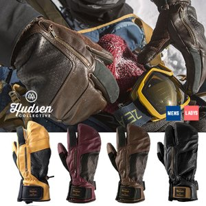ハドソン グローブ トリガーミトン メンズ レディース Hudsen collective HC-11H Calvin スノーボードグローブ スノボ スキー グローブ 手袋 トリガー [1101]|shop-hood