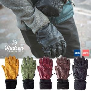 【5%還元】ハドソン スノーボードグローブ 5本指 メンズ レディース Hudsen collective HC-29H Calhoun 5本指グローブ スノボ スキー グローブ 手袋  [1101]|shop-hood