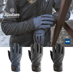 【5%還元】ハドソン スノーボードグローブ 5本指 メンズ Hudsen collective HC-18M Elmer 5本指グローブ スノボ スキー グローブ 手袋 男性用  [1101]|shop-hood