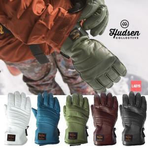【5%還元】ハドソン スノーボードグローブ 5本指 レディース Hudsen collective HC-23AL Libby 5本指グローブ スノボ スキー グローブ 手袋 女性用 [1101]|shop-hood