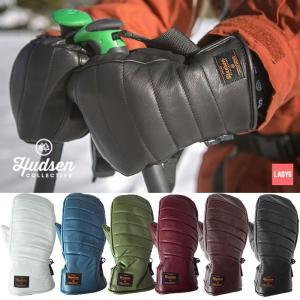 ハドソン スノーボードグローブ ミトン レディース Hudsen collective HC-24AL Libby Mitt ミトングローブ スノボ スキー グローブ 手袋 女性用 [1101]|shop-hood