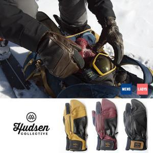 ハドソン スノーボード グローブ 手袋 HUDSEN HC-11H 19-20 Calvin カルビン スノボ 5本指 glove ユニセックス  [1125]|shop-hood