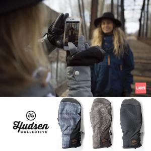ハドソン スノーボード レディース ミトン グローブ 手袋 HUDSEN HC-20 19-20 Harriet ハリエット 5本指 スノボ glove   [1125]|shop-hood