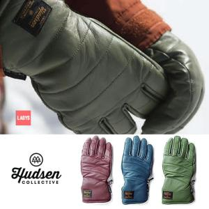 ハドソン スノーボード レディース グローブ 手袋 HUDSEN HC-23B 19-20 Libby リビー 5本指 スノボ glove  [1125]|shop-hood