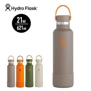 ハイドロフラスク 水筒 ステンレス Hydro Flask 5089084 21oz 621ml STANDARD MOUTH TIMBERLINE 保温 保冷 魔法瓶 [200930]|shop-hood