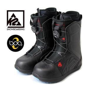 【5%還元】K2 スノーボードブーツ RAIDER RENTAL (BLK) スノボ boots メ...