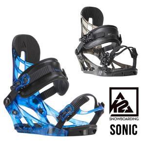 K2 スノーボードビンディング ケーツー SONIC 17/18 スノボビンディング バインディング スノーボード バイン [0901]|shop-hood