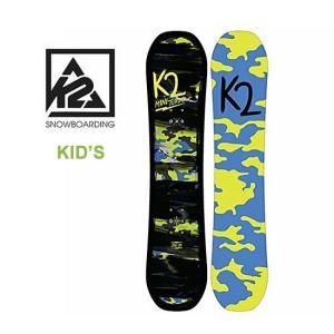 【5%還元】K2 キッズ スノーボード 板 MINI TURBO BOARD 17/18 130cm スノボ ジュニア[0904]|shop-hood