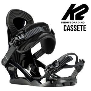 【5%還元】K2 スノーボード バインディング ビンディング レディース CASSETTE BINDING BLK (Sサイズ) カセット ボード スノボ  [0103]|shop-hood