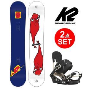 【5%還元】スノーボード K2 2点セット (板 ビンディング) DANIEL FRANCK WHALES 17/18 + ビンディング LIEN FS  スノボ snowboard 154cm Binding|shop-hood