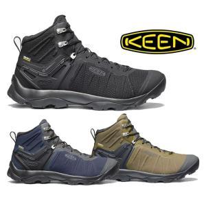 【5%還元】キーン トレッキングシューズ 靴 ハイキングシューズ メンズ KEEN ヴェンチャー ミッド ウォータープルーフ 防水ハイキングシューズ shop-hood