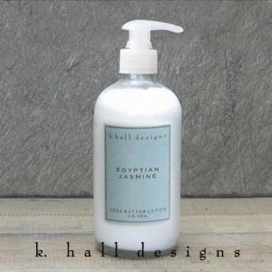 ボディークリーム 保湿剤 K.hall designs ケイホールデザインズ ローション 236ml Lotion Egyptian Jasmine エジプシャンジャスミン 米国製 khall|shop-hood
