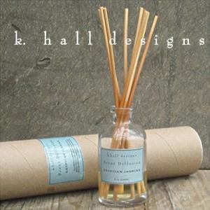 K.hall designs ディフューザー 236ml Diffusers Egyptian Jasmine エジプシャンジャスミン 米国製 K-HALL ディフューザー スティック アロマl|shop-hood