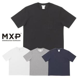 エムエックスピー Tシャツ 半袖 メンズ MXP MX38302 BIG TEE WITH POCKET (MDJ) ポケT  ビックT 半袖Tシャツ|shop-hood