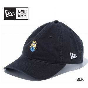 【5%還元】ニューエラ キャップ 帽子 ミニオンズ NEWERA 930 DM MINION 9THIRTY ミニオン メル ミニロゴ ブラック|shop-hood