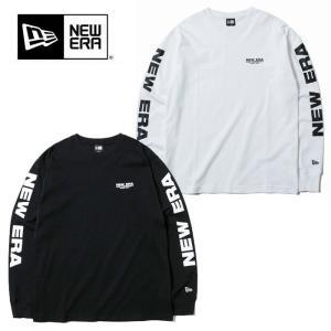 【5%還元】ニューエラ ロンT 長袖 メンズ NEW ERA LS COTTON TEE NEWERACAP1920 12108231/12108232 長袖Tシャツ newera 黒 白 [0904]|shop-hood