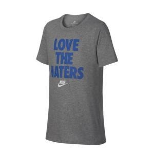 ナイキ キッズ Tシャツ NIKE 913107 YTH LOVE THE HATERS TEE 半袖 子供 メール便 0510|shop-hood