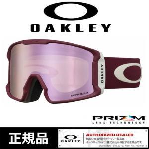 【5%還元】オークリー ゴーグル プリズム OAKLEY【天曇〜降雪】19-20 [ 7070-44 ] LINE MINER V.GRY PINK スノーボード スキー goggle [0930]|shop-hood