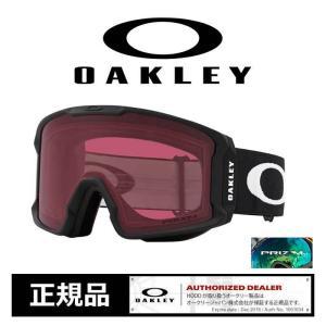 オークリー ゴーグル OAKLEY 7070-72 LINE MINER M.BK/P.D.GRY スノーゴーグル  スノーボード スノボ スキー [201023]|shop-hood