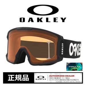 オークリー スキー スノーボード ゴーグル OAKLEY 7070-67 20-21 LINE MINER XL FP.BK P.PER グローバルフィット goggle [201225]|shop-hood