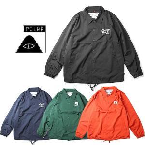 ポーラー コーチジャケット ジャケット POLeR C/VIBES COACH JK アウター|shop-hood
